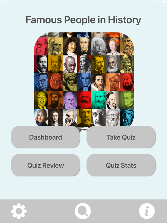 Historical Famous People Quiz screenshot 8