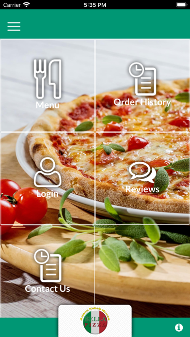 BELLA PIZZA MILDENHALL Screenshot