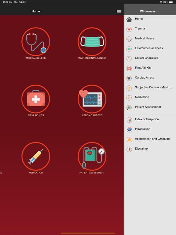 Ipad Screen Shot Wilderness Medicine Reference 0