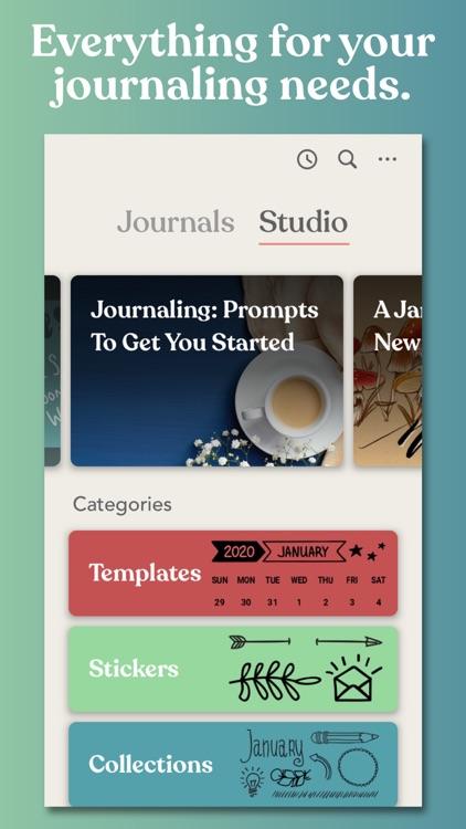 Zinnia Journal & Planner screenshot-4