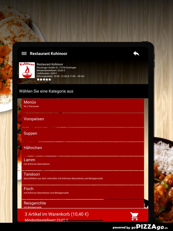 Restaurant Kohinoor Esslingen screenshot 8