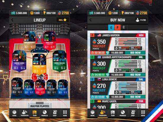 バスケットボールマネージャーオンライン 2019のおすすめ画像9