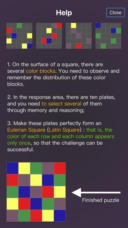 Magic Square In Color screenshot-5
