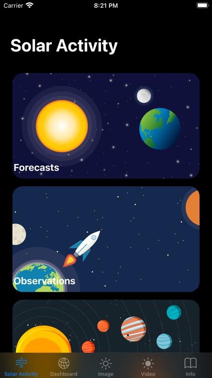 Solar Activity Pro