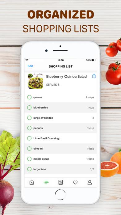 Healthy Recipes - Tasty Food Screenshot