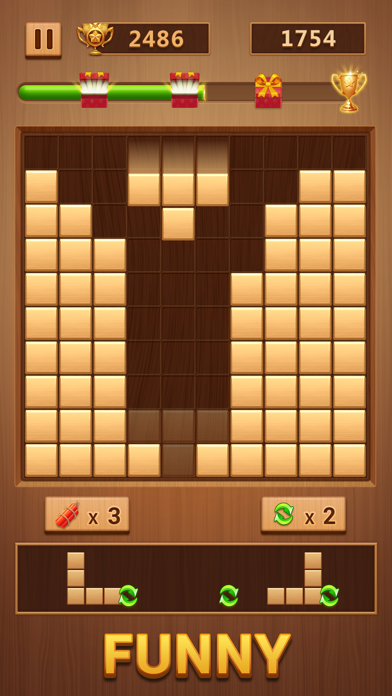 Wood Puzzle Game 3