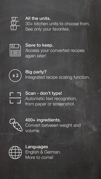 Useful Units Recipe Converter screenshot-3