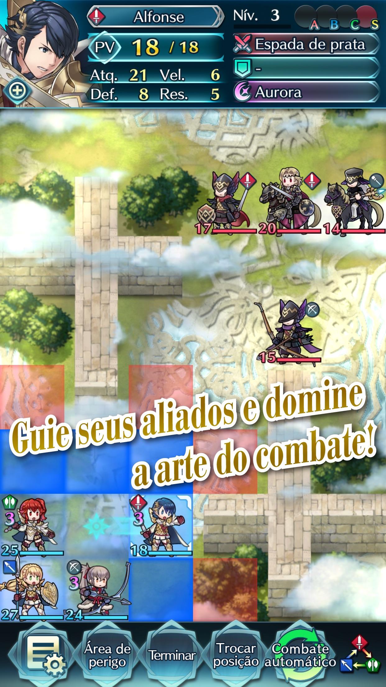 Screenshot do app Fire Emblem Heroes