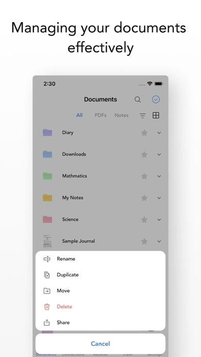 Flexcil 2 ノート&PDFリーダーのスクリーンショット9