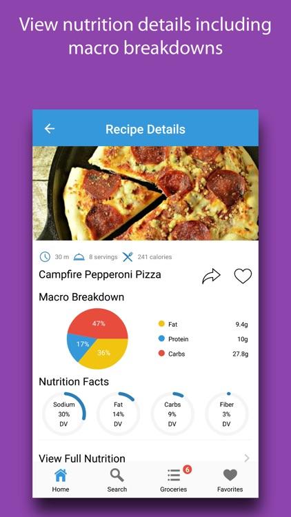 Crusty: Pizza Recipes screenshot-3