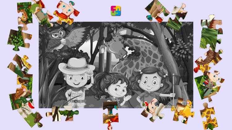 森林舞会-益智动物拼图
