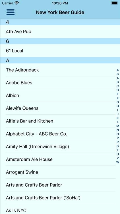 Beer Guide NYC screenshot-9