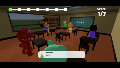 Balddy Piggy Monster School Screenshot on iOS