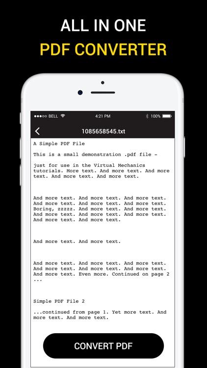 PDF Converter & PDF Reader screenshot-3
