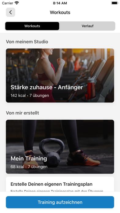 SC Egling Fitness AppScreenshot von 7