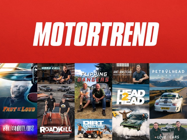 Motortrend Stream Car Shows On The App Store