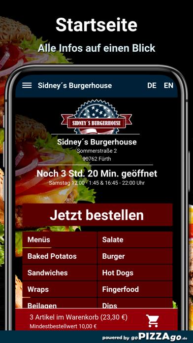 Sidney´s Burgerhouse Fürth screenshot 2