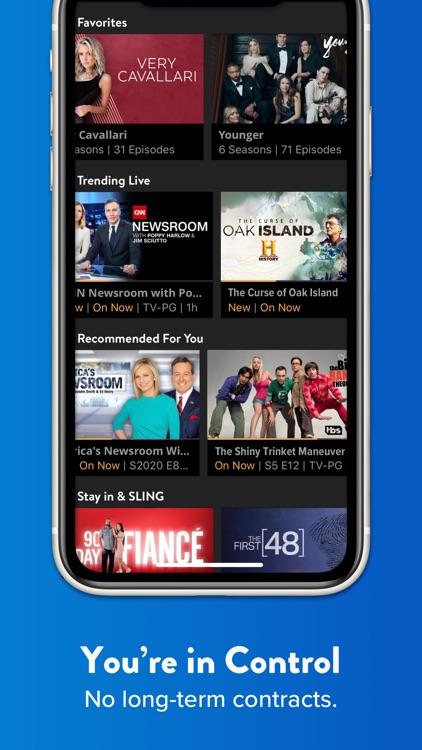 Sling: Live TV, Shows & Movies screenshot-3
