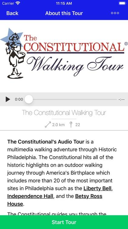 Walking Tour of Philadelphia