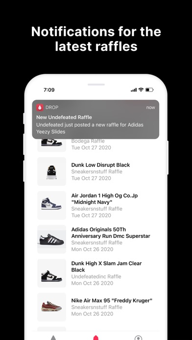 Drop - Shoe Releases & Raffles Screenshot