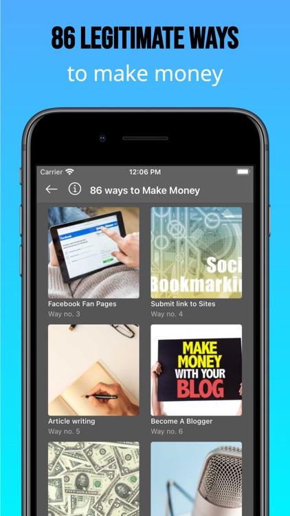 86 Ways to Make Money Online