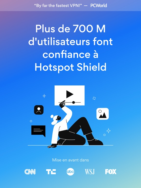 Screenshot #4 pour HotspotShield VPN & Wifi Proxy