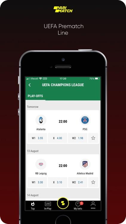 Parimatch: Sports Betting screenshot-3