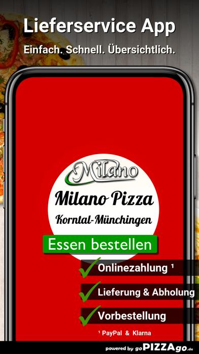 Milano Pizza Service Korntal screenshot 1