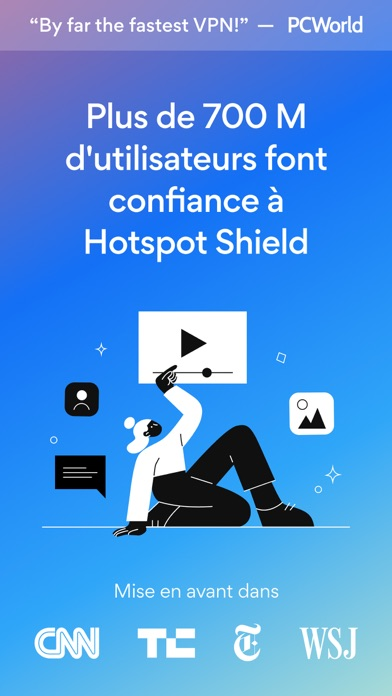Screenshot #1 pour HotspotShield VPN & Wifi Proxy