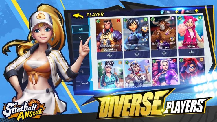 Streetball Allstar:3v3 eSports screenshot-6