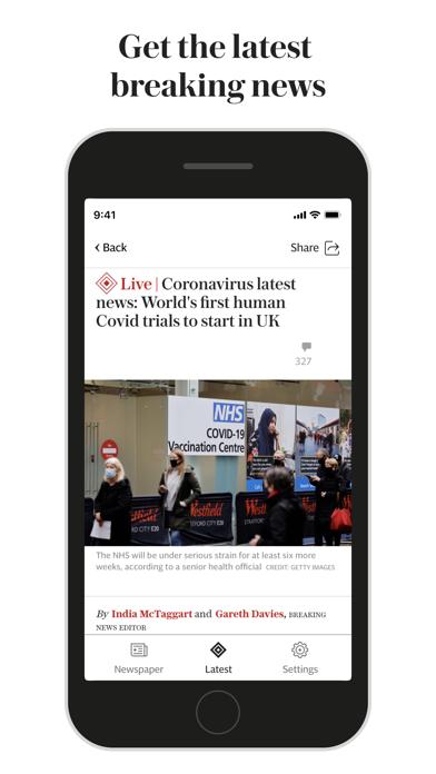 The Telegraph UK: News & Sportのおすすめ画像1