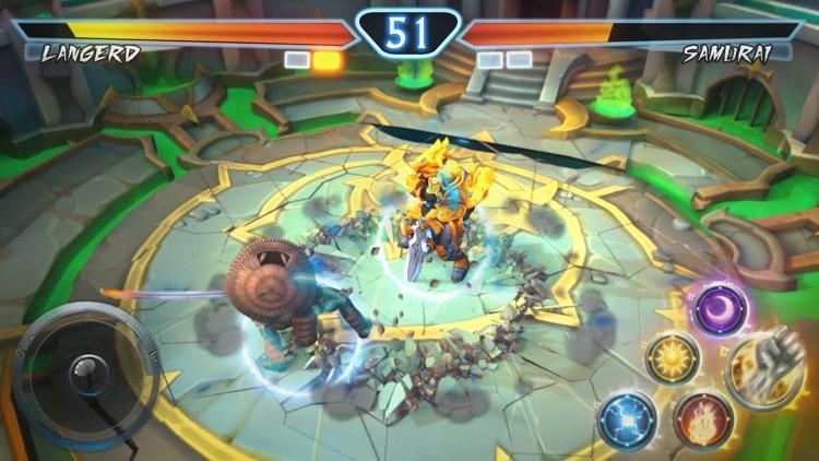 Juggernaut Wars-MMORPG legends screenshot-4