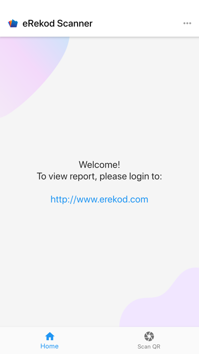 eRekod Scanner screenshot 2