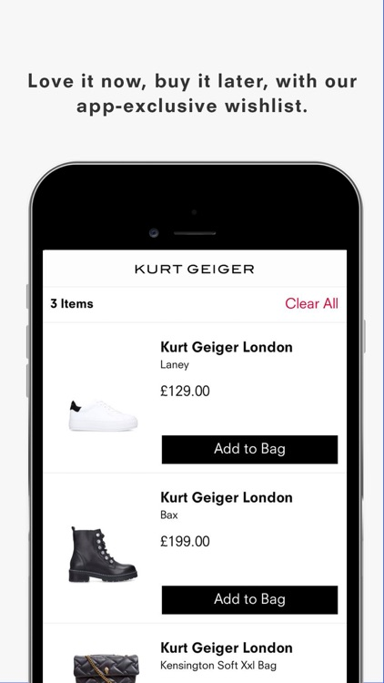 Kurt Geiger: Shop Shoes & Bags screenshot-3