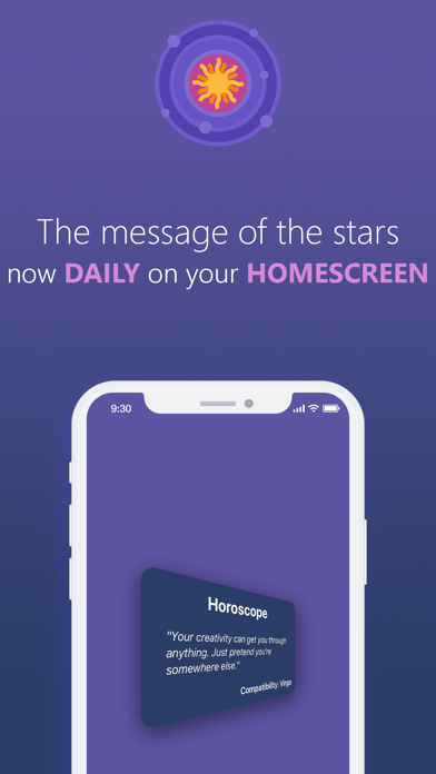 Astroscope - Daily Widget screenshot 1
