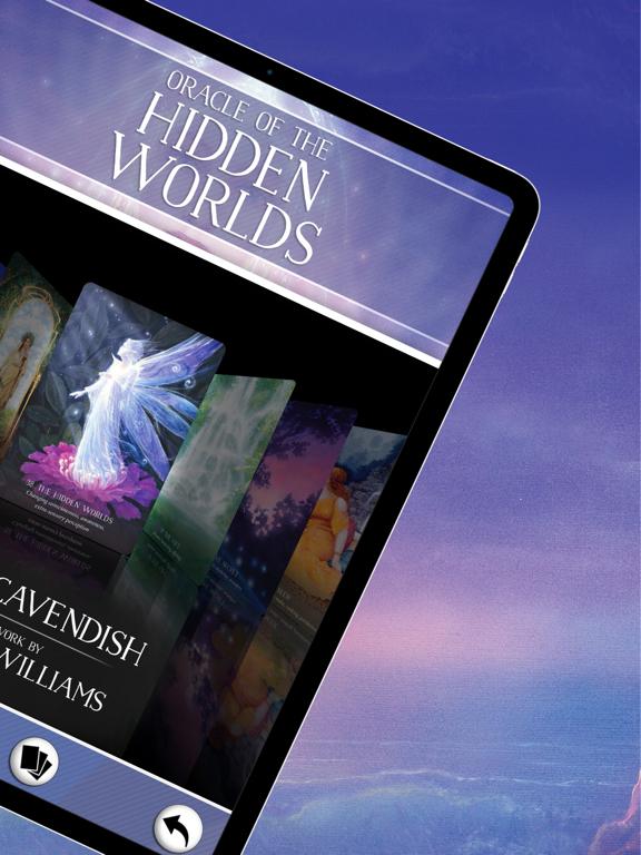 Ipad Screen Shot Oracle of the Hidden Worlds 2