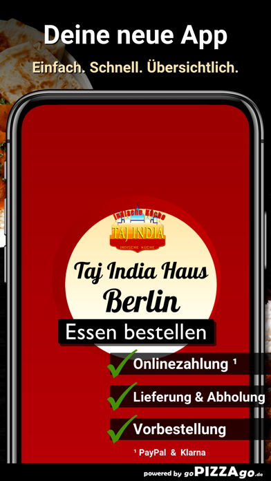 Taj India Haus Berlin screenshot 1