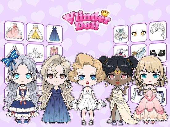 iPad Image of Vlinder Dolls - Dress Up Games