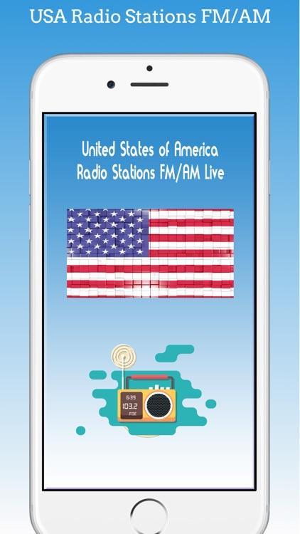 USA Radio Stations Live FM AM
