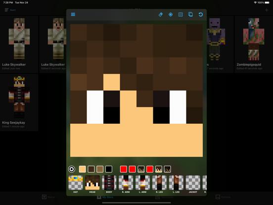 Screenshot #5 pour Skin Creator: Diamond Edition