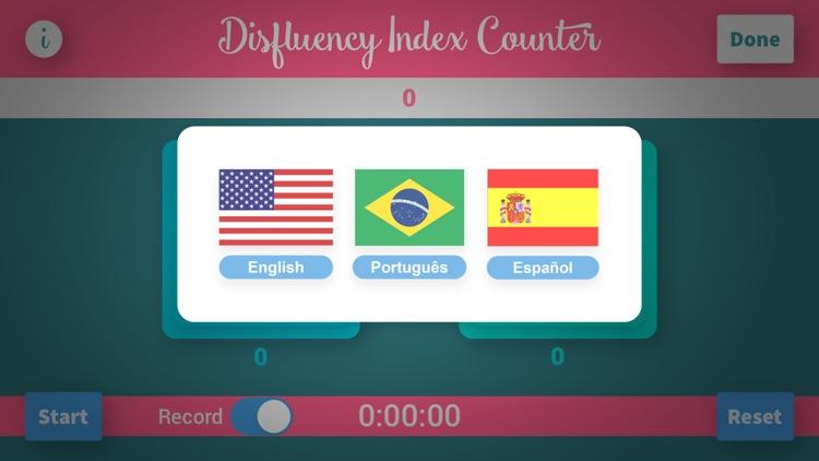 Disfluency Index Counter Plus screenshot-4