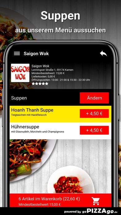 Saigon Wok Kamen screenshot 5