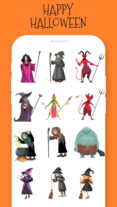 Halloween Stickers!!! screenshot 4