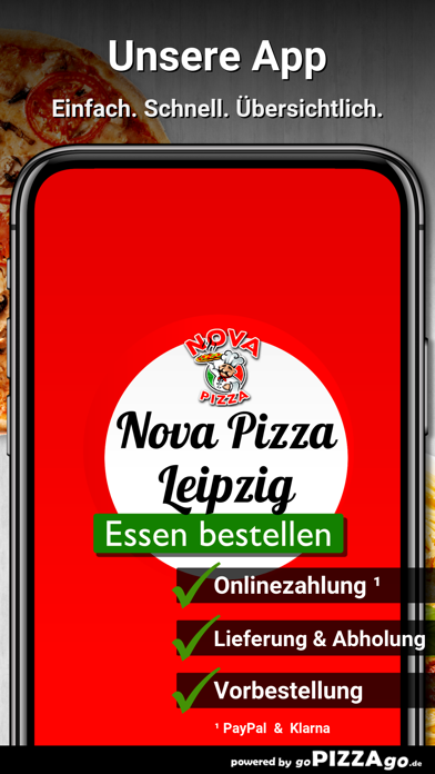 Nova Pizza Leipzig screenshot 1