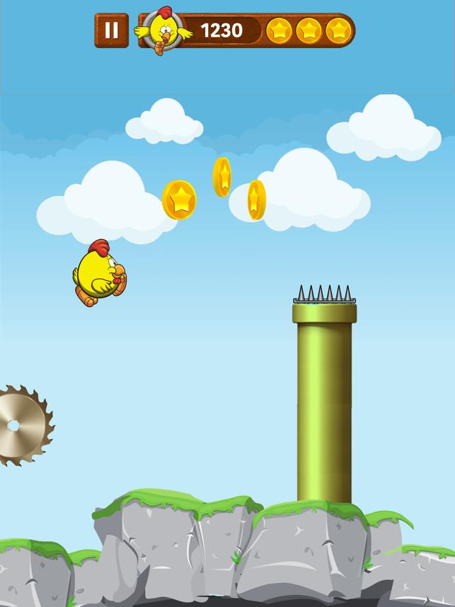 BirdsRide, game for IOS