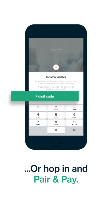 Curb - Request & Pay for Taxis screenshot