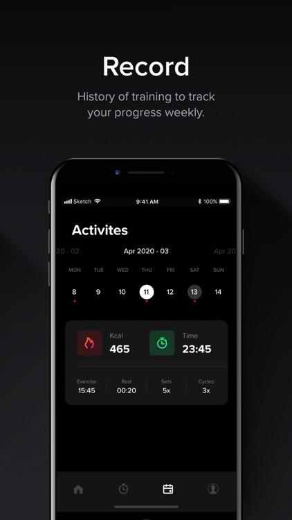 HIIT & Tabata: Fitness App screenshot-7