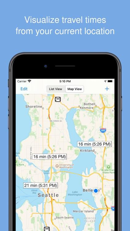 Traffic Time - Fast ETAs screenshot-3
