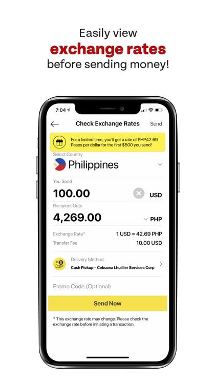 Sigue Money Transfer screenshot-4