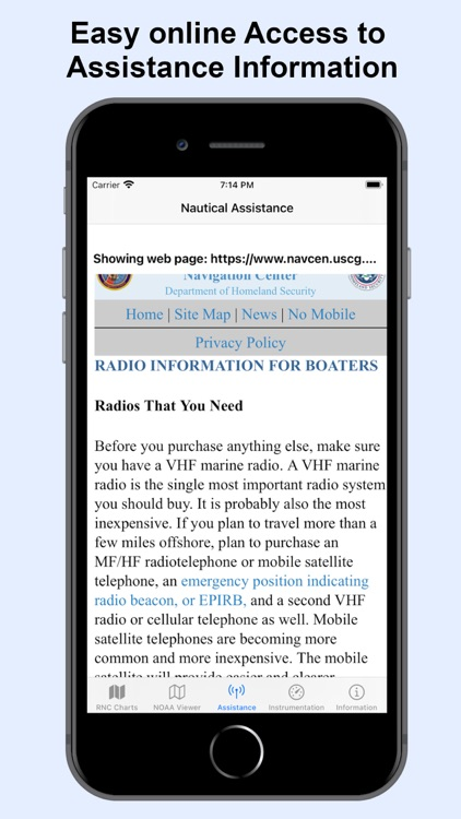 NOAA Nautical Charts & Map screenshot-4